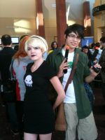 Anime Banzai 2012 Rose and Jake by Fainting-Ostrich