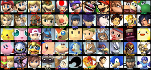 Super Smash Bros Newest Roster by KingDor65