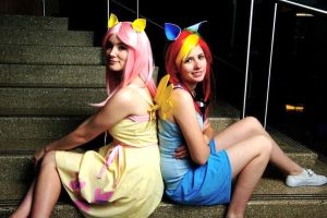 Pegasisters by SassaFrassCosplay