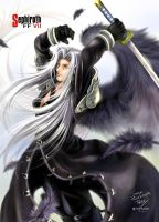sephiroth of FF7 by YTNAS
