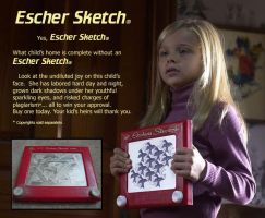 Escher Sketch by sethness