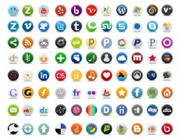 Pretty Social Media Icon Part 2 by FreeIconsFinder