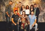 Leon Chiro with Spartacus actors in Paris 2014 by LeonChiroCosplayArt