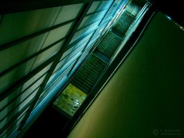 Stairs To Nowhere by cybiegraphy