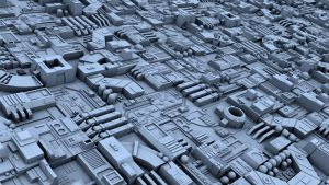Death Star Greebles Conversion by PixelOz