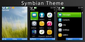 Symbian Theme by h4X0ry0uL34