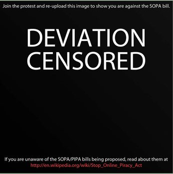STOP SOPA AND PIPA. by SydneyWells