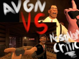 Critic VS AVGN TF2 Skin ready by Metabug