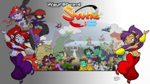 The World of Shantae by Inkwell-Pony