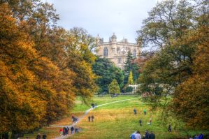 Wollaton Hall Gardens by teslaextreme