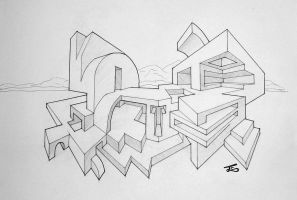 Fictional architecture 2 by tosch