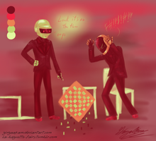 Palette Chess Tumblr Request by GingaAkam