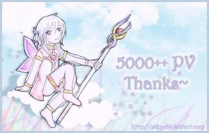 Thanks for 5000++ Page Views by Cairy