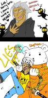 One Piece/KH2: Natural Enemies by Minuu-chan