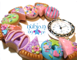 Sweet Donuts and Pies Watch by colourful-blossom