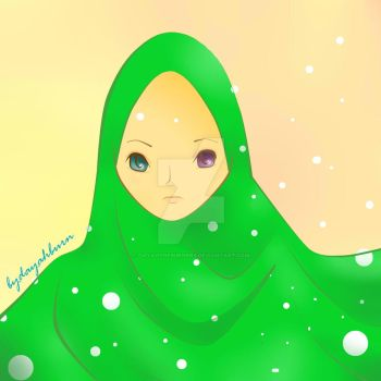 the green one by dayahtheburners