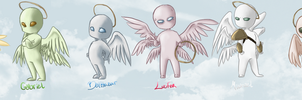 True form angels by Karacoon