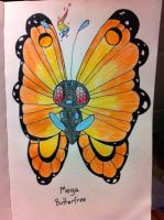 Mega Butterfree by Nebo-Dude2