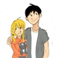 FMA- Some random kids by schellibie