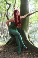 Poison Ivy Cosplay Shoot by PairOfQueensCosplay