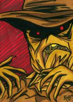 Sketchcard Scarecrow by RichBernatovech