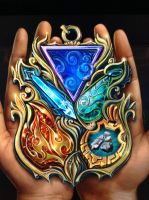 Medallion of elements by isaac77598