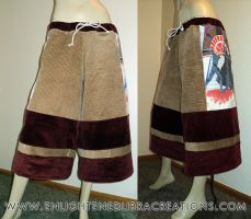 Star-Wars-Patchwork-Corduroy-Festival-Shorts by RedheadThePirate