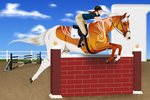 Ray- AESS Jumping by BlueFire-Phoenix