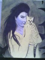 The Cat Lady WIP Part 2 by ForeverFallen16