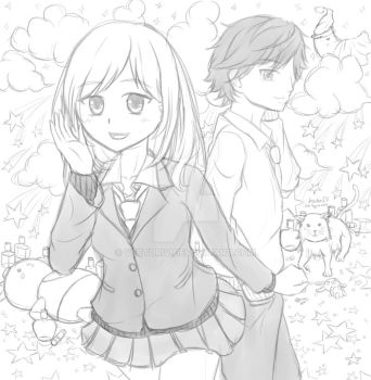 Ao Haru Ride (WIP) by VectorIV