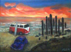 Volkswagens Live on the Beach by gypsysnail