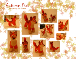 Autumnfire sculpture by SeeTheMutt