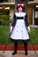 That Maid, Battle Ready by cosplaybeat