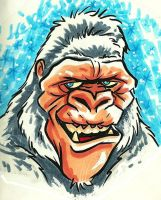 Abominable Snowman by JollyGorilla