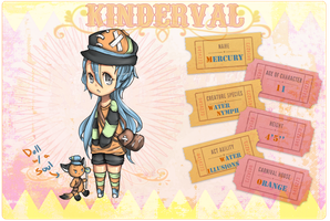 Kinderval App - Mercury by JeanaWei