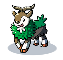 Pokeddexy Challenge Day 10 - Skiddo! by IncreasinglyCoherent