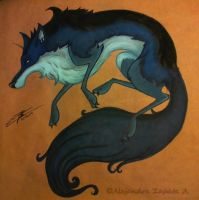 Tundra the Wolf by srs17