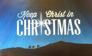 Keep Christ in Christmas by HeavenCalling