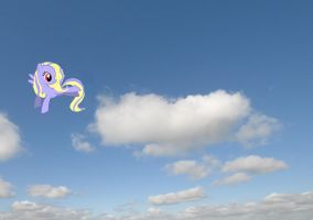 Flutterly First Time Flying with background by LovelyLeoKika