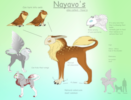 Nayavo - Species Info by xXAkilaXx