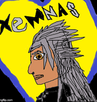 Xemnas side view animation by MysticFantasy1996
