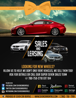 Seven Car Rental's Sales and Leasing Flyer by engtinkham