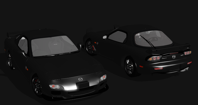 2002 Mazda RX-7 Spirit R For XPS by noonenothing