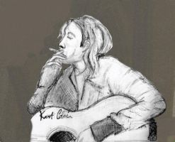Kurt Cobain by Freakiniilse