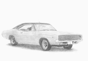 1968 Dodge Charger by mikebontoft