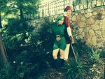Saria and Link by Strange-little-cat