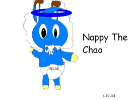 Nappy The Chao by Marcusthehedgehog