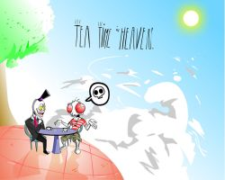 Tea Time in Heaven by VermilionFly