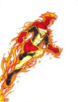 Fantastic Redesign: The Human Torch by FrischDVH