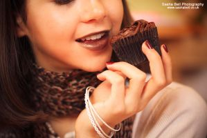 Chocolate Cupcake by thesashabell